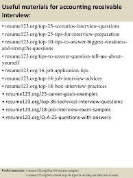 Sample Resume Accounts Receivable Unforgettable Accounts Receivable Clerk Resume Examples To Stand