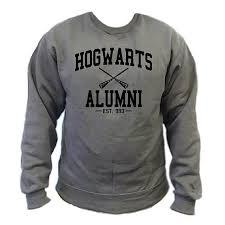 hogwarts alumni tshirt harry potter hogwarts alumni sweatshirt senseofcustom
