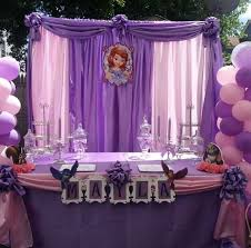 Sofia The First Birthday Decorations Sophia The First Party Decorations