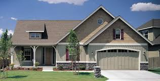 small homes with 2 car garage on foundation mascord house plan 1150 the lindley