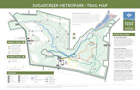 Lebanon Hills Map Sugarcreek Metropark Five Rivers Metroparks