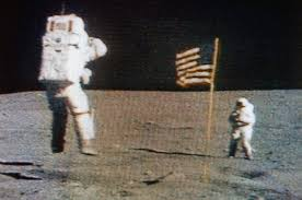Picture Of Flag On Moon Fellow Astronauts Remember John Young As Crewmate Hero And U0027great