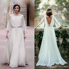 flowy wedding dresses discount flowy lace wedding dresses 2017 lace flowy wedding