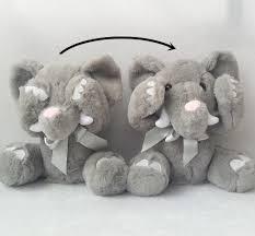 Singing Stuffed Animals Stuffed Animals Plush Panda Elephant Singing Baby