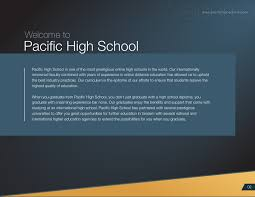 is online high school pacific high school online education at its best