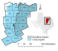 Ft Worth Map Agrilife Research Groundwater Challenges Emerging Around Dallas