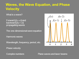 Vermont which seismic waves travel most rapidly images Waves the wave equation and phase velocity what is a wave jpg