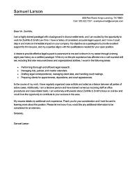 sample paralegal resume cover letter best paralegal cover letter