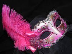 pink mardi gras mask pink mask think pink