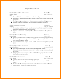 Sample Resume For First Year College Student by Affordable College Degrees Fl Resume Resumes Contract Administrator