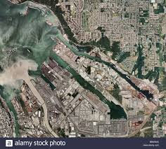 Tacoma Washington Map by Aerial Map View Above Port Of Tacoma Washington Sediment Carried