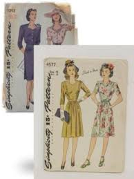 womens 1940 u0027s sewing patterns at rustyzipper com vintage clothing