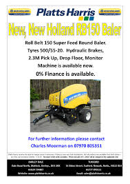 new holland balers for sale platts harris