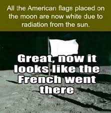 What Is Meme In French - white flag on the moon nationality stereotypes know your meme