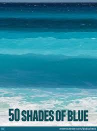Blue Meme - 50 shades of blue by bokscheck meme center