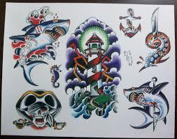 creative skull lighthouse tattoo tattoobite com