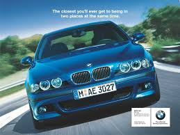 bmw magazine ads old and new bmw ad campaigns part one