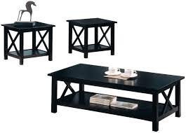 3 piece black coffee table sets 57 set of coffee tables 3 piece coffee table set elliptical glass