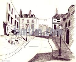 free drawing of italian village from the category holidays tourism