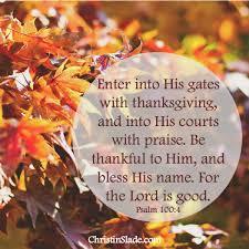 be thankful christin slade