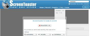Screen Toaster 35 Irresistible Free And Commercial Screen Recording Tools