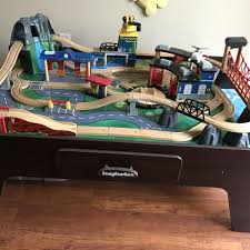 mountain rock train table find more imaginarium mountain rock train table for sale at up to 90