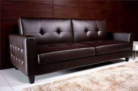 Inexpensive Sleeper Sofa Modern Chocolate Leather Cheap Sleeper Sofas Leather Couch Cushion