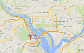 pentagon map the pentagon on map of washington dc easy guides