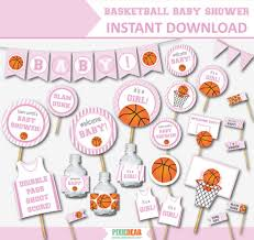 basketball baby shower basketball baby shower for pink baby shower pink baby