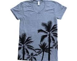 palm trees shirt etsy