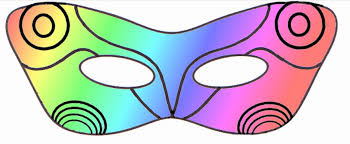 halloween butterfly mask printable coloring pages