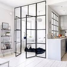 amenager chambre dans salon la verrière intérieure en 62 idées pour toute la maison photos