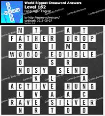 world u0027s biggest crossword answers game solver
