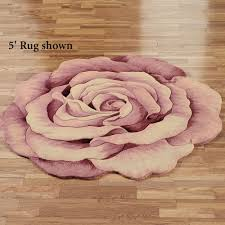 Holiday Bathroom Rugs by Flower Shaped Rugs Touch Of Class