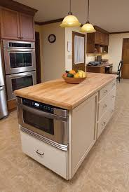 kitchen island with microwave kenangorgun com