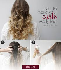 step bu step coil hairstyles finally the secret to your curls lasting all day fitness magazine