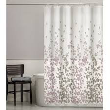 curtains gray fabric shower curtain linergray shower curtain