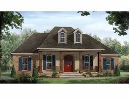 Small Country House Designs Small French Country With Open Floor Plan Hwbdo69622 Country From