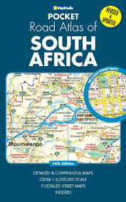 Map South Africa South Africa Including Lesotho Swaziland Road Map Mapstudio