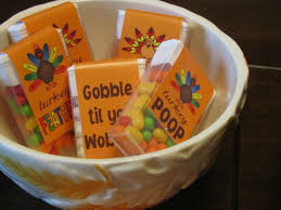 thanksgiving tic tacs turkey thanksgiving party favors