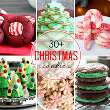 30 christmas cookies recipes for the holidays cookies cream