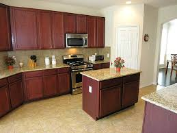 kitchen center island cabinets simple and neat u shape kitchen ideas using cherry wood