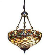 Stained Glass Pendant Light Stained Glass Hanging Ls Ebay