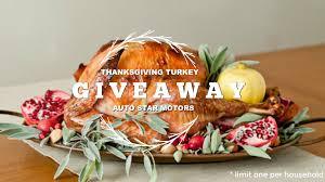 auto motors thanksgiving turkey giveaway auto motors