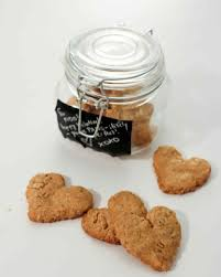 valentine u0027s day dog treats in a jar martha stewart