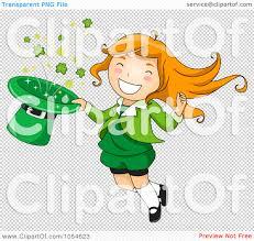 female leprechaun free clipart