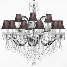Chandelier Lamp Shades G83 Sc 995 18 19th C Rococo Iron U0026 Crystal Chandelier Lighting