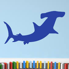 hammerhead shark wall stickers amazon com hammerhead shark