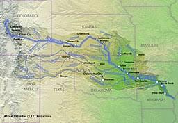 me a map of arkansas arkansas river
