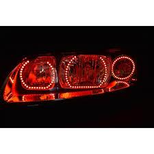 volvo s60 tail light assembly s60 v 3 fusion color change led halo headlight kit 2005 2009